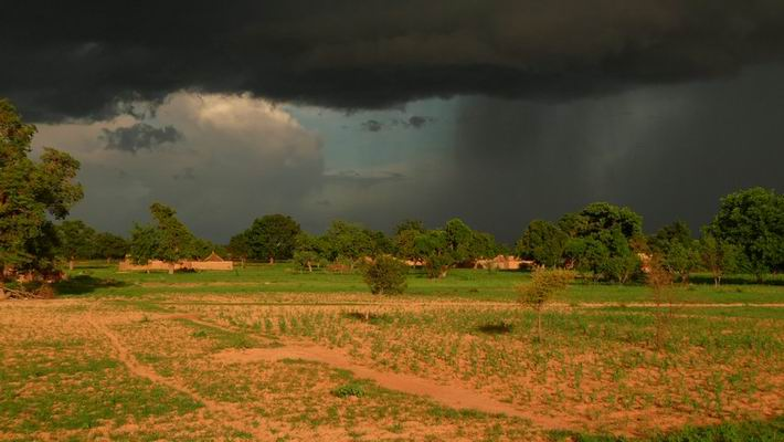 Burkina Faso arrivée de la pluie Août 2009