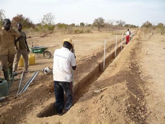 Goema pose clôture perimètre 2010